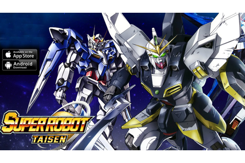 Super Robot Taisen English Gameplay IOS/ Android - YouTube