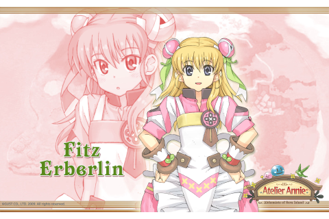 Atelier Annie Alchemists of Sera Island Wallpaper 009 Fitz ...