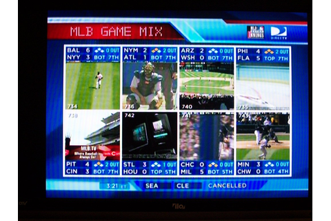 Looking at DirecTV MLB Extra Innings - Game Mix on HD set ...