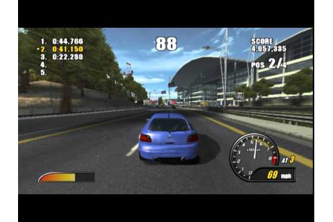 Burnout 2: Point of Impact (PS2 Gameplay) - YouTube