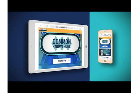 Common Knowledge: Online Game | Game Show Network - YouTube