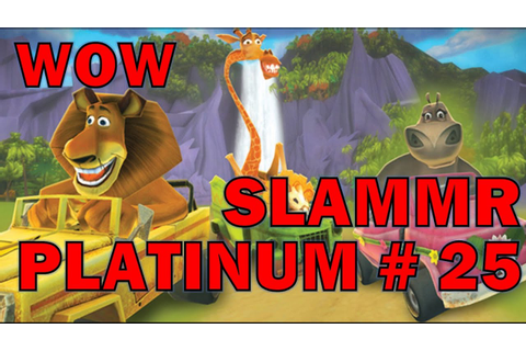 SLAMMR - Madagascar Kartz - Platinum Trophy #25 - YouTube