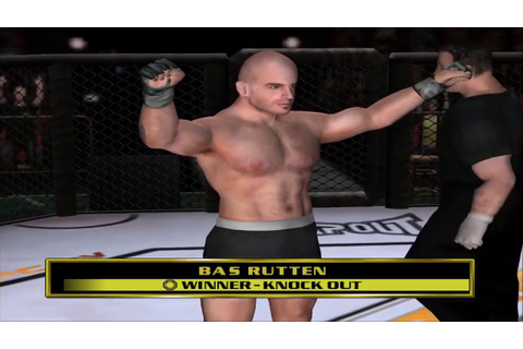 UFC Throwdown - Bas Rutten Gameplay - YouTube