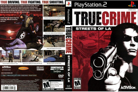Anyone else remember the game True Crimes: Streets of LA ...
