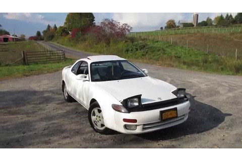 1992 Toyota Celica GT 5 Spd Fall Updates - YouTube