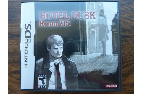 Hotel Dusk : Room 215 Nintendo DS RARE Complete Nds Video ...