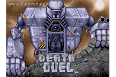 Death Duel - Sega Nomad - Games Database