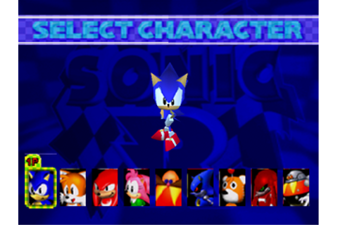 Sonic World :: Game Info Archive :: Sonic R (Saturn)
