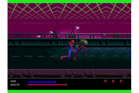 Spider-Man - Web of Fire 32X Download Game | GameFabrique