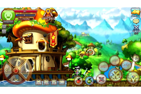 MapleStory M, a Mobile Version of the 2D MMORPG, Is Now ...
