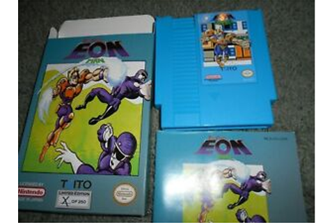 Time Diver Eon Man CIB for Nes, Nintendo BLUE Repro CART ...