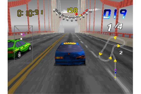 Play San Francisco Rush - Extreme Racing Sony PlayStation ...