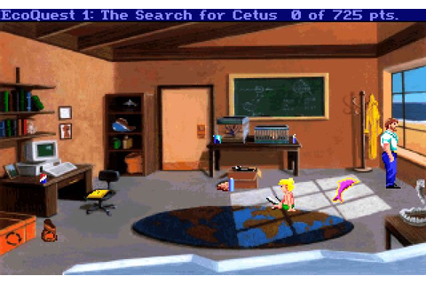 Download EcoQuest: The Search for Cetus adventure for DOS ...