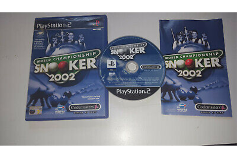 Sony playstation 2 game world championship snooker 2002 ...