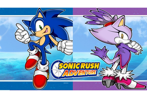 Sonic Rush Adventure: All 3D Cutscenes 2K 60FPS - YouTube