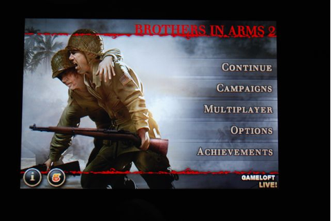 Review : Brothers In Arms 2 : Global Front for iPhone and ...