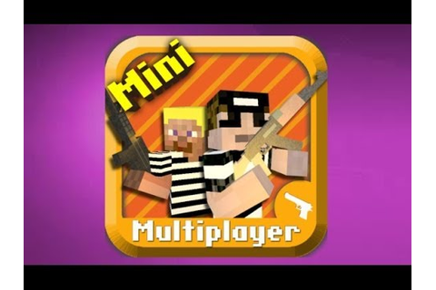 Cops N Robbers (FPS) - Mine Mini Game (Review) - YouTube
