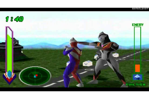 Ultraman Tiga & Ultraman Dyna:New Generations PS1 (Part 10 ...