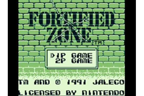 Fortified Zone Game Boy Title Music - YouTube