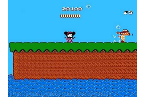 Mickey Mousecapade (NES) - YouTube