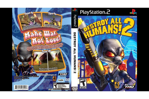 DESTROY ALL HUMANS! 2 PS4 Walkthrough Part 1 - YouTube