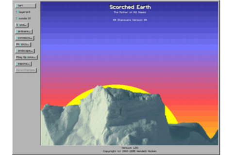 Scorched Earth (video game) - Wikipedia