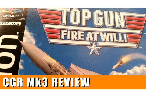 Classic Game Room - TOP GUN: FIRE AT WILL review for ...