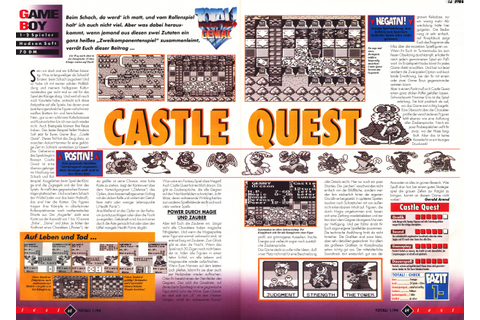 Castle Quest (Game Boy) - N.i.n.Retro (New is not Retro) v3+