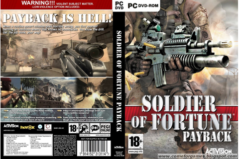 Soldier of Fortune Payback | Just Games For Gamers