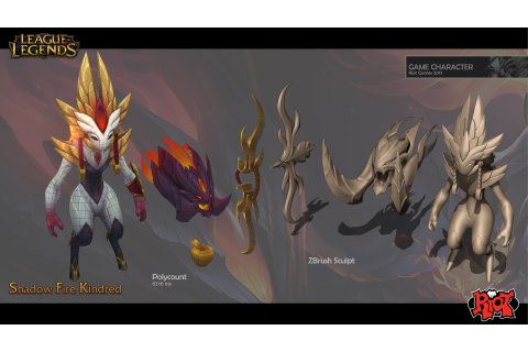 Image - Kindred ShadowFire model 3.jpg | League of Legends ...