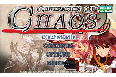 SRPG Generation of Chaos - Android Apps on Google Play