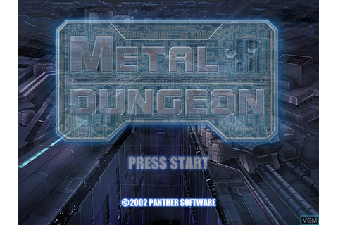 Metal Dungeon for Microsoft Xbox - The Video Games Museum