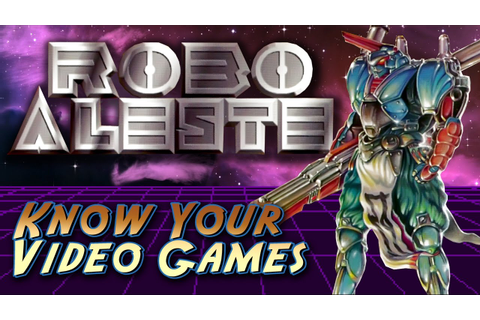 ROBO ALESTE for Sega CD - Review - YouTube