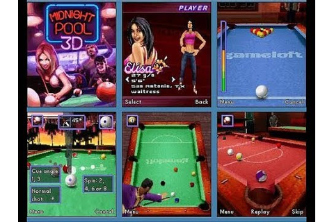 Midnight Pool 3D - Gameloft (Java Game) - YouTube