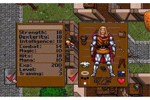 Ultima VII: The Black Gate - My Abandonware