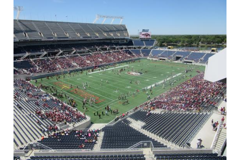 Florida State Spring Game 2016 - Picture of Camping World ...