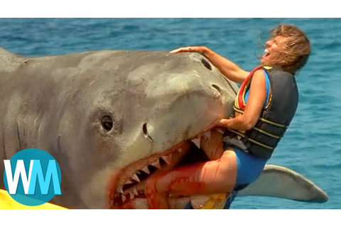 Top 10 Scariest Movie Shark Attacks - YouTube