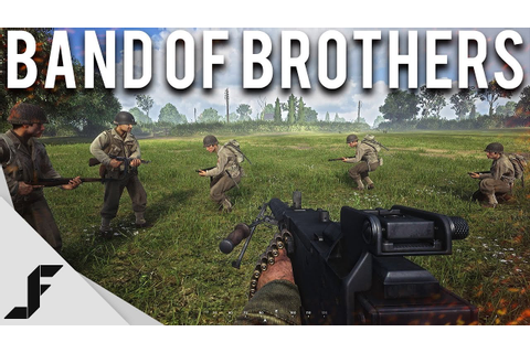 BAND OF BROTHERS - Hell Let Loose WW2 Gameplay + First ...