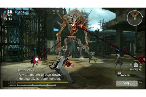 Freedom Wars Stage Demo - E3 2014 - YouTube