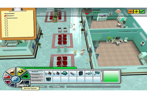 Hospital Tycoon PC Gameplay HD - YouTube