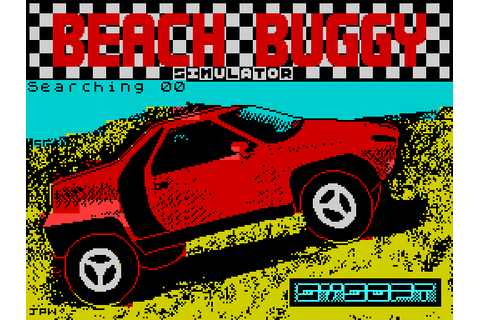 Beach Buggy Simulator (1988) by Sysoft ZX Spectrum game