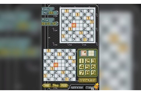 Play Sudoku Gridmaster (USA) • Nintendo DS GamePhD