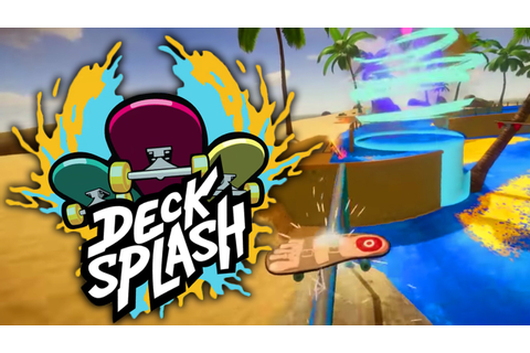 Decksplash SKATEBOARDING ON A POPSICLE! Decksplash ...