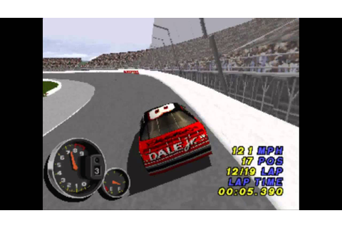 NASCAR 99 Legacy ... (PS1) - YouTube