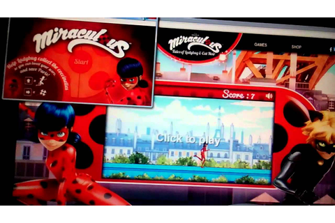 Miraculous Ladybug Game - YouTube