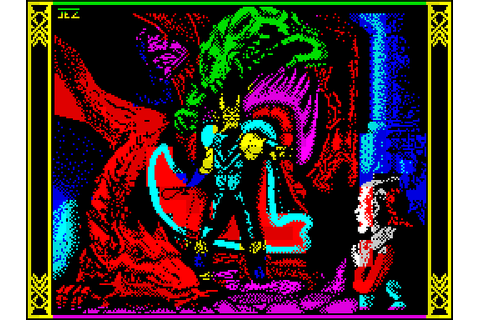 Dragons of Flame (1990) by U.S. Gold ZX Spectrum game