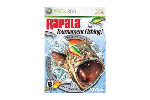 Rapala Tournament Fishing Xbox 360 Game - Newegg.com