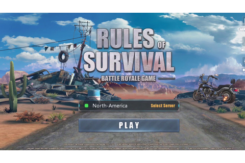 Rules of Survival game trailer - YouTube