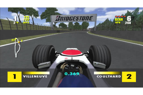 F1 Championship Season 2000 Montreal (PS2) - YouTube