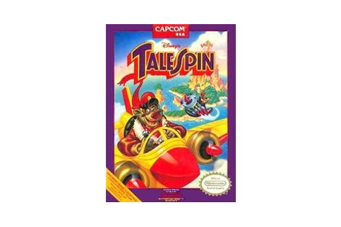 Disney's TaleSpin - Nintendo NES game